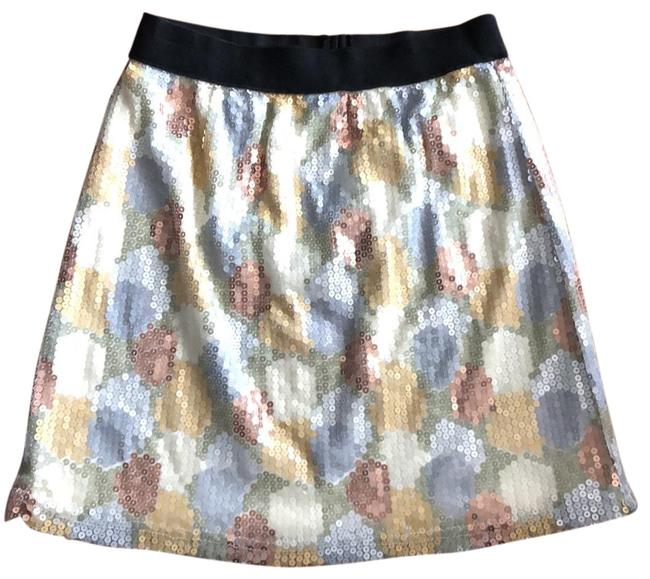 Item - Multicolor Sequins Skirt Size 0 (XS, 25)