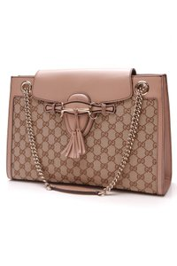 fdfa3818251 Added to Shopping Bag. Gucci Shoulder Bag. Gucci Emily Chain - Signature  Beige Canvas ...