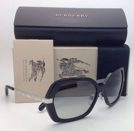 Burberry New BURBERRY Sunglasses B 4153-Q 3001/11 58-16 135 Black w/ Grey gradi Image 1