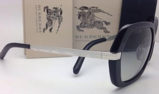Burberry New BURBERRY Sunglasses B 4153-Q 3001/11 58-16 135 Black w/ Grey gradi Image 10