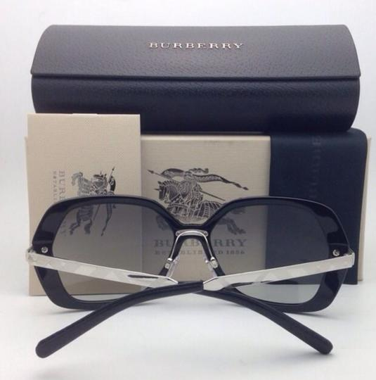 Burberry New BURBERRY Sunglasses B 4153-Q 3001/11 58-16 135 Black w/ Grey gradi Image 2