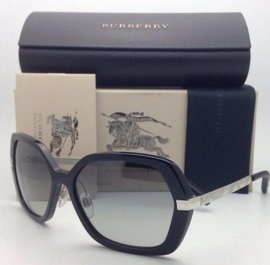 Burberry New BURBERRY Sunglasses B 4153-Q 3001/11 58-16 135 Black w/ Grey gradi Image 5