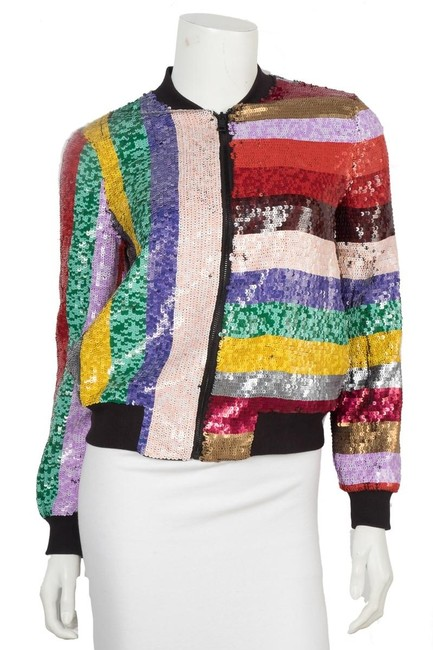 Item - Multi-color Sequin Xsmall Jacket Size 2 (XS)