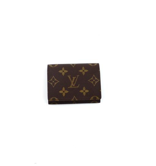 e97cc29c175d Louis Vuitton Monogram Envelope Cartes de Visite Business Card Holder Wallet  Image 0 ...