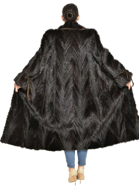 Item - Black Mahogany Mink Jacket S-m Coat Size 8 (M)