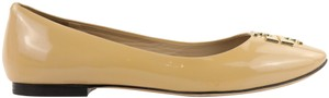 Tory Burch Nude Patent Leather beige Flats