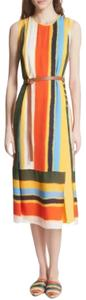 Multi-colored Maxi Dress by Tory Burch