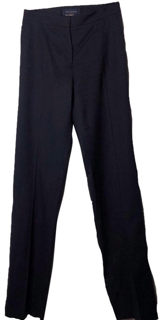 Piazza Sempione Black Judy Mid Rise Pants Size 2 (XS, 26) Piazza Sempione Black Judy Mid Rise Pants Size 2 (XS, 26) Image 1