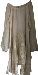 Anjuna short dress Ivory Lace on Tradesy