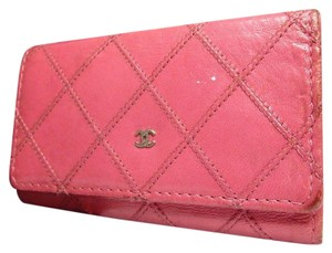 Chanel Chanel Pink 5 Key Case