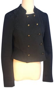 Free People We the free navy knit military jacket size 6