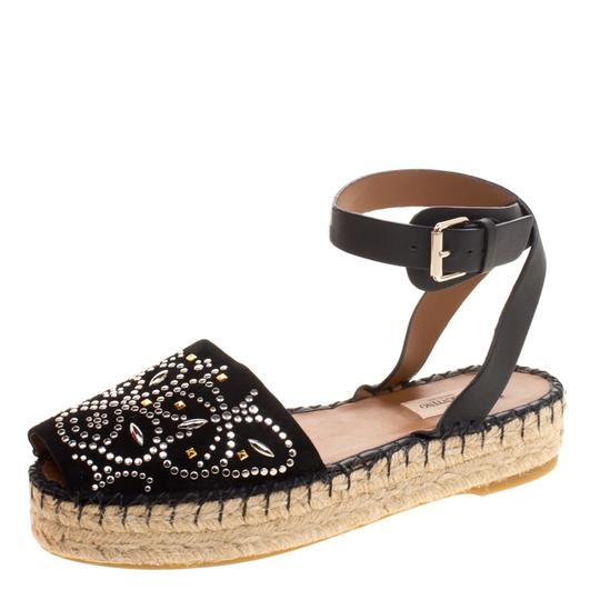 Preload https://img-static.tradesy.com/item/25096058/valentino-black-embellished-suede-and-leather-ankle-strap-espadrilles-flats-size-eu-39-approx-us-9-r-0-0-540-540.jpg