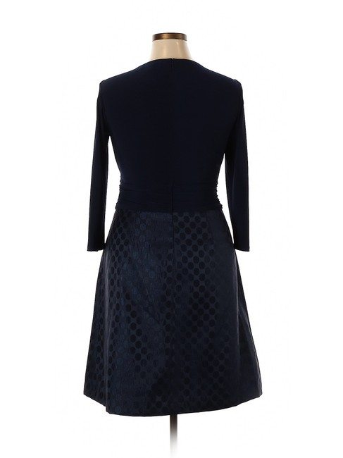 American Living short dress Navy Blue Modal Satin Polka Dot A-line on Tradesy Image 1