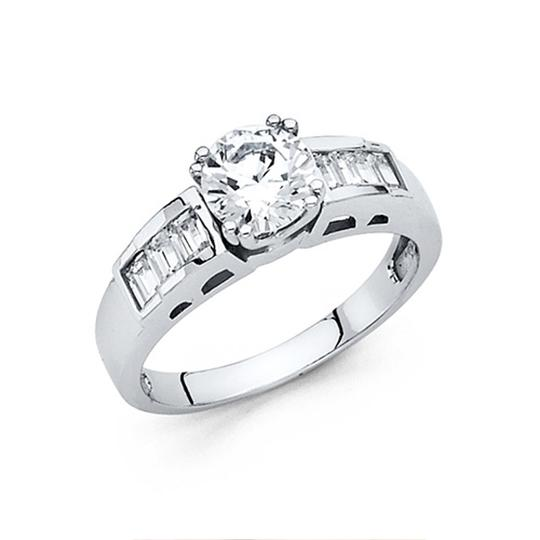 Preload https://img-static.tradesy.com/item/25096246/white-125-ct-double-prong-peg-head-round-with-baguette-cz-wedding-ring-0-0-540-540.jpg
