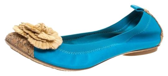 Preload https://img-static.tradesy.com/item/25096254/chanel-blue-turquoise-leather-cork-cap-toe-and-raffia-camelia-ballet-flats-size-eu-42-approx-us-12-r-0-1-540-540.jpg