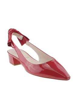 Kate Spade Slingback Patent Leather Red Sandals