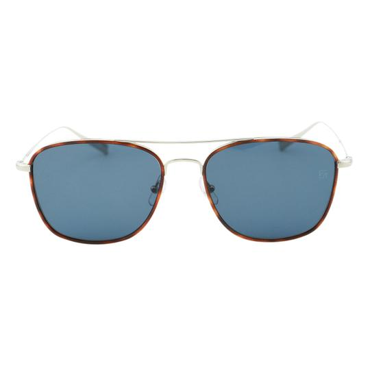 Preload https://img-static.tradesy.com/item/25096492/ermenegildo-zegna-gray-and-blue-new-ez0052-14v-shiny-light-titanium-rectangular-53mm-sunglasses-0-0-540-540.jpg