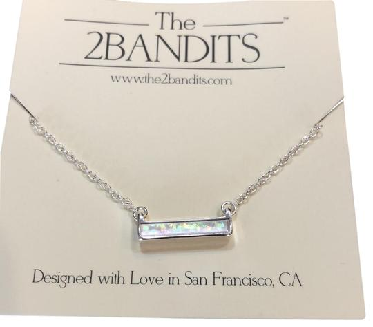 The 2bandits Iridescent bar necklace Image 0