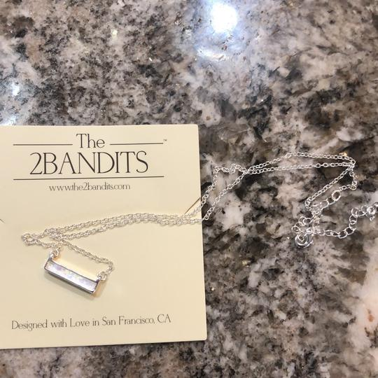 The 2bandits Iridescent bar necklace Image 1