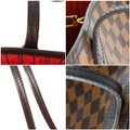 Louis Vuitton Damier Canvas Leather Bright Chic Classic Tote Image 6