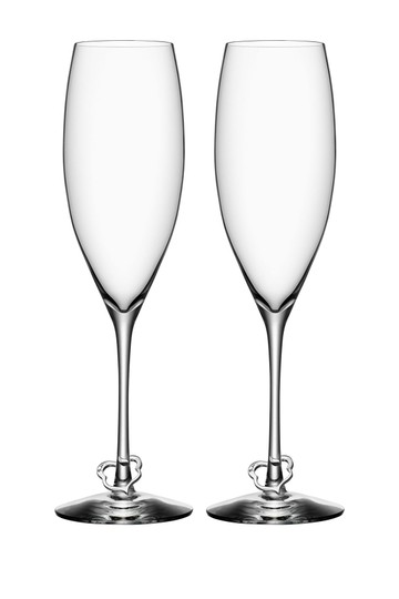 Preload https://img-static.tradesy.com/item/25096645/clear-orrefors-crazy-heart-845-oz-champagne-flute-set-of-2-0-0-540-540.jpg