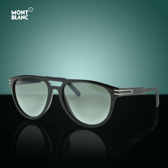 Montblanc New 2018 Mb-699 01a Barberini Tempered Glass Aviator Sunglasses Image 2