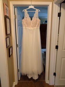 Cha/Ivy Ebsl094 Casual Wedding Dress Size 14 (L)