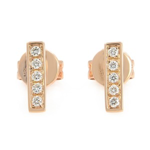 Gavriel's Jewelry Diamond Bar Stud Flat Pave One Line Earrings