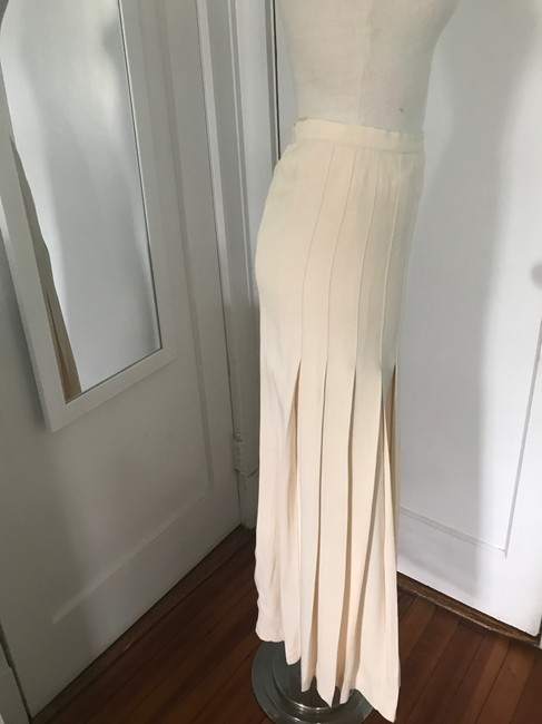 Chanel Maxi Skirt Cream Image 2