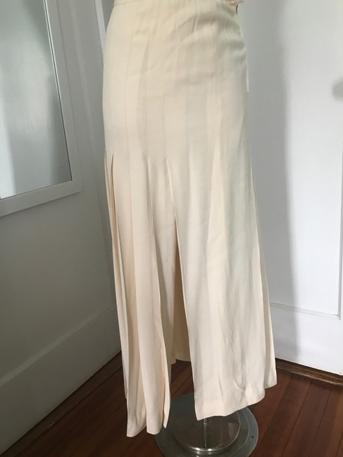 Chanel Maxi Skirt Cream Image 4