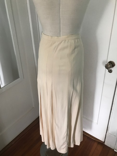 Chanel Maxi Skirt Cream Image 5