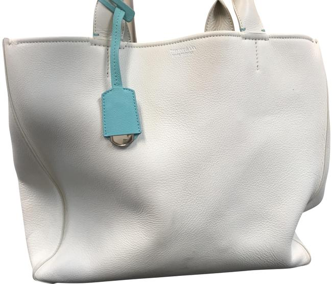 Item - Cream Leather Tote
