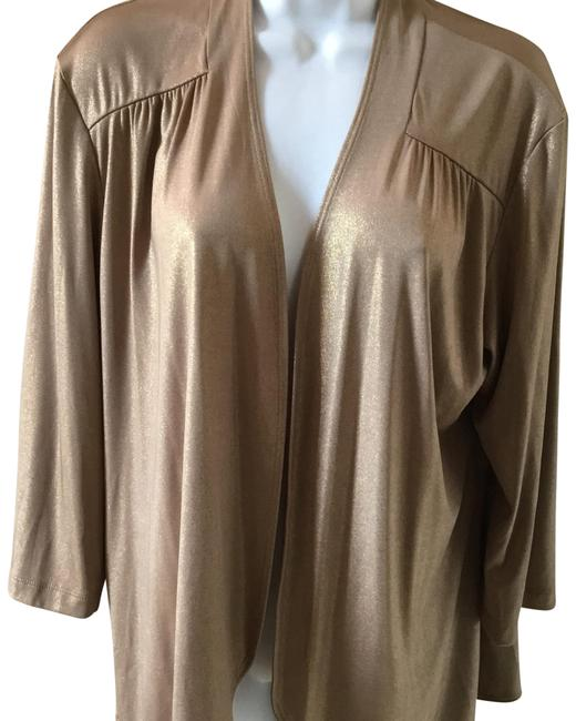 Item - Gold Travelers Shimmer 2 Or A Us Cardigan Size 12 (L)