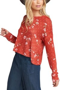 Show Me Your Mumu Floral Polka Dot Retro Boho Bohemian Sweater