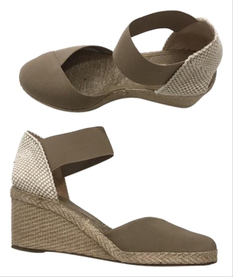 0f0cd30d65f Andre Assous Tan Anouka Elastic Espadrille Wedges Size US 10 Regular (M, B)  53% off retail