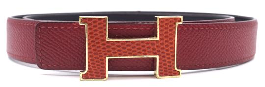 Preload https://img-static.tradesy.com/item/25098360/hermes-28488-extremely-rare-lizard-skin-leather-inlay-red-on-black-constance-24mm-gold-h-size-80-rev-0-1-540-540.jpg