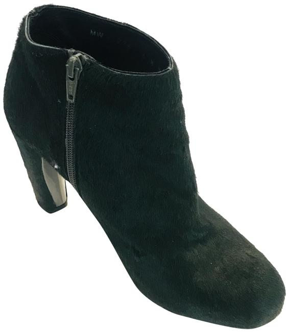 Item - Forest Green Pony Hair Ankle Boots/Booties Size US 6.5 Regular (M, B)