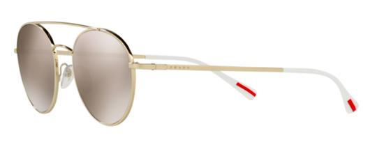 88ab274740670 Prada Gold New Rounded Sps 51s Zvn1c0 Free 3 Day Shipping Sunglasses ...