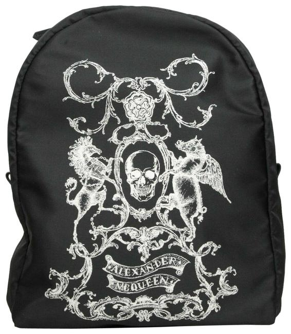 Item - Unisex Coat Of Arms Skull 453662 1082 Black Nylon Backpack