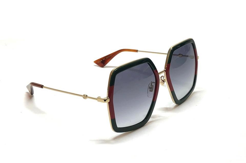 1bab1bb09 Gucci Red | Green Large Style Gg0106s 007 - Free 3 Day Shipping ...