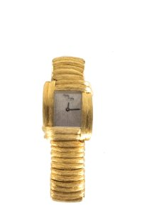 Henry Dunay Designs HENRY DUNAY 18k Yellow Gold and Diamond Sabi Watch