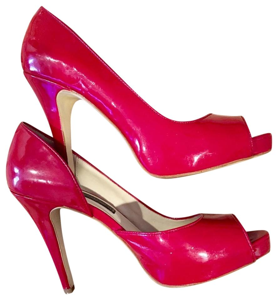 aec4eaff324 Steven by Steve Madden Red Elegant High Heel Perfect Platforms Size US 8  Regular (M, B)