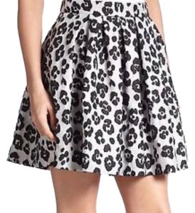 Moschino Mini Skirt Leopard