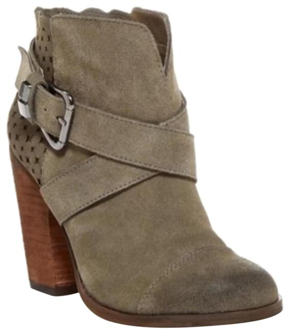 Item - Gray Suede Boots/Booties Size US 8 Regular (M, B)