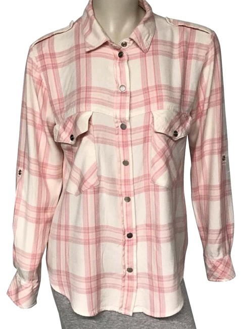 Preload https://img-static.tradesy.com/item/25100951/sanctuary-pink-plaid-boyfriend-button-up-button-down-top-size-12-l-0-1-650-650.jpg