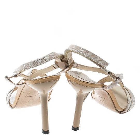 Chanel Leather Beige Sandals Image 2