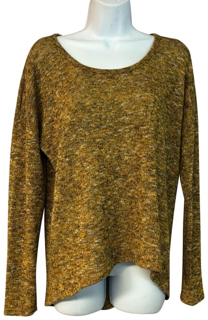 Preload https://img-static.tradesy.com/item/25100982/gibson-mustard-yellow-drop-shoulder-rayon-poly-blend-knit-sweater-m-blouse-size-8-m-0-1-650-650.jpg