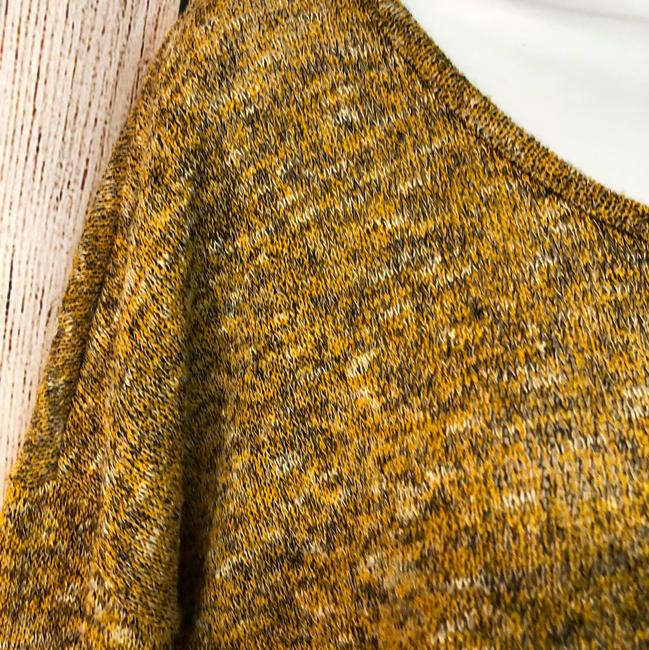 Gibson Knit Sweater Top MUSTARD YELLOW Image 1