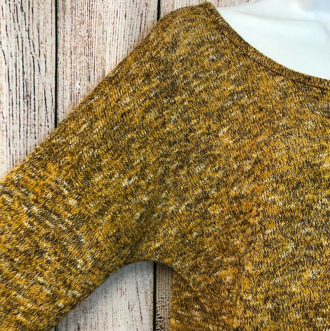 Gibson Knit Sweater Top MUSTARD YELLOW Image 2