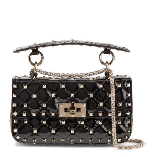 Preload https://img-static.tradesy.com/item/25101082/valentino-small-rockstud-spiked-quilted-patent-leather-cross-body-shoulder-bag-0-0-540-540.jpg